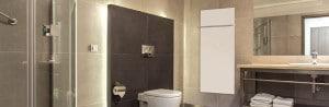Infrarotheizung im Badezimmer